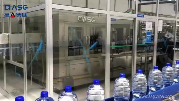 江苏星A12000瓶每小时饮用水整线方案