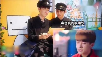 两个韩国小帅哥看了tfboys王源、王俊凯、易烊千玺的视频被圈粉了