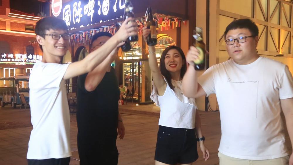 20秒丨青岛西海岸新区·金沙滩啤酒城 激情畅饮 哈啤一夏
