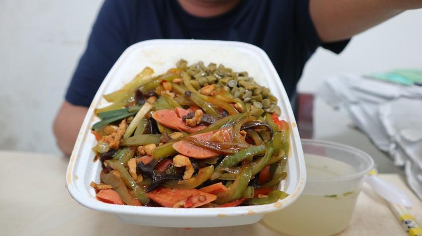 """""""青椒炒肉丝""""看着很有食欲 ,太好下饭了"""