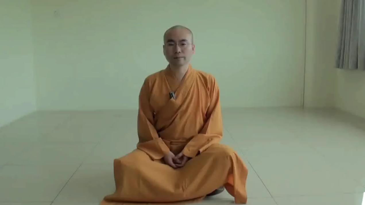 大寂法师讲述:禅修技巧的教学