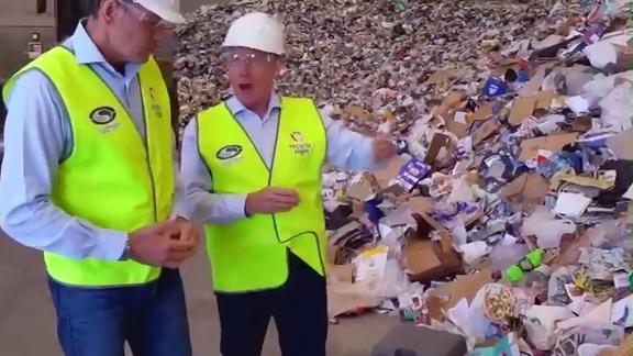 禁止进口洋垃圾,还一个绿水青山的中国!