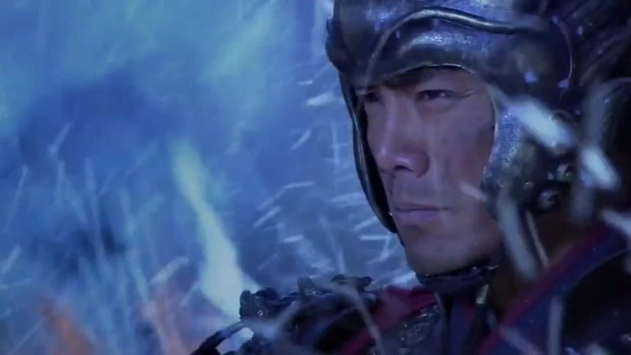"""""""精忠岳飞""""一代名将韩世忠带数百残众,杀死敌军将领救出王渊。"""