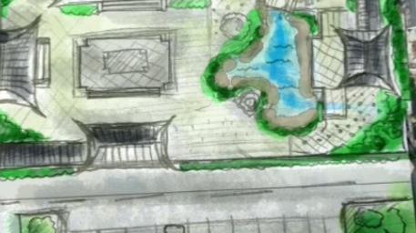 广东苏式园林景观与建筑设计布局讲解