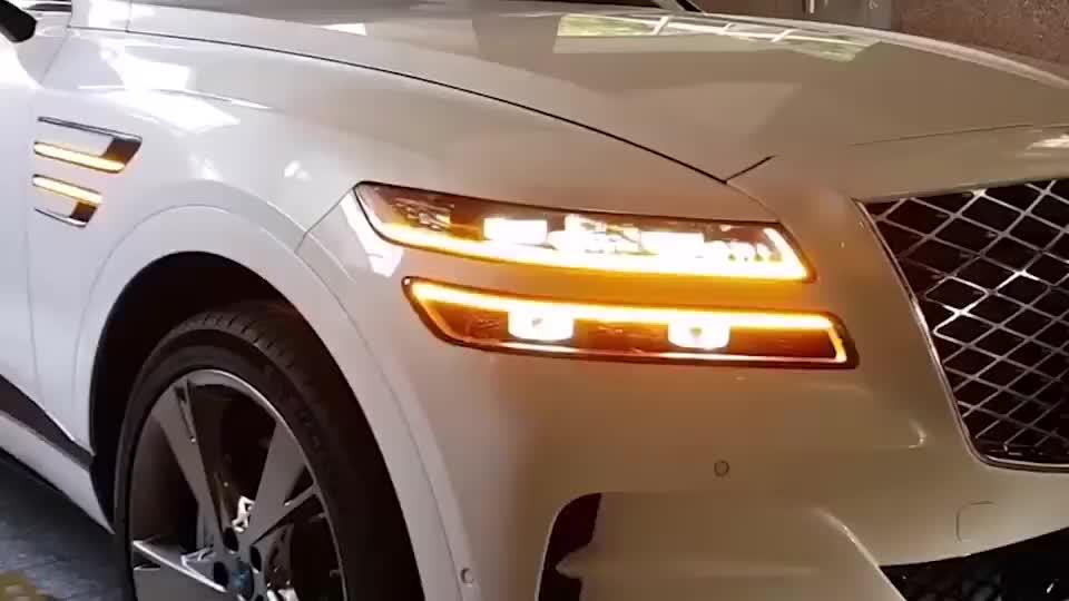 60W的韩国车会有人买吗?试驾2020款现代捷恩斯GV80高配版