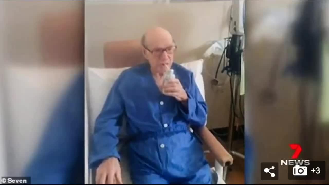 神奇!澳95岁高龄老人确诊,竟然在24天内痊愈#抗击疫惰 #正能量
