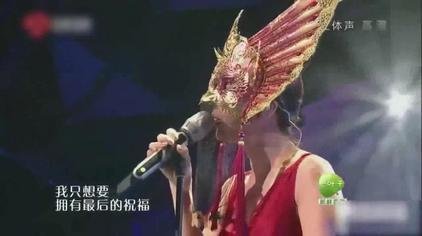蒙面歌王:她刚唱一句,巫启贤就知道是谁了!不愧是乐坛老将!