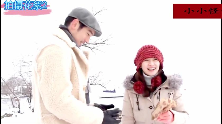高以翔雪里拍戏,因为太冷一直吸鼻涕,焦俊艳:幸好不是拍吻戏